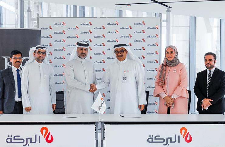 Bin Faqeeh Signs a MOU Agreement with Al Baraka Islamic Bank