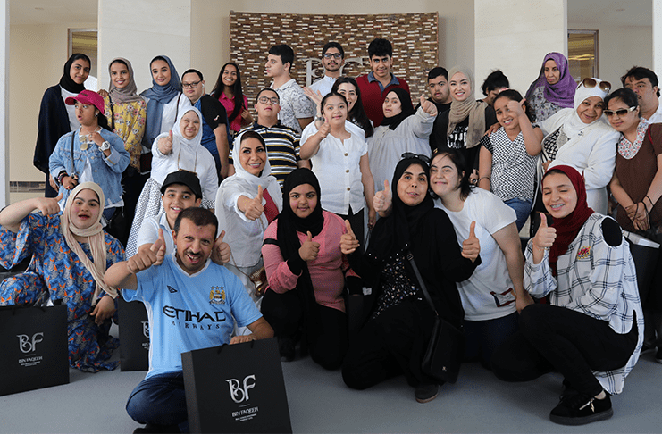 Bin Faqeeh Gives Welcomes the Association for Parents and Friends of the Disabled