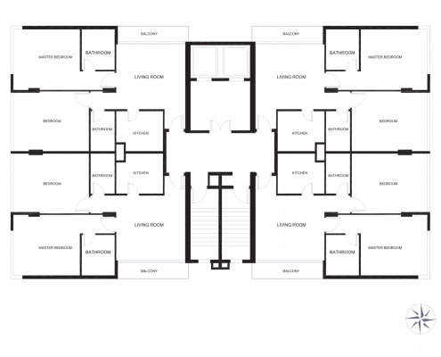 LaVidaTower_FloorPlans